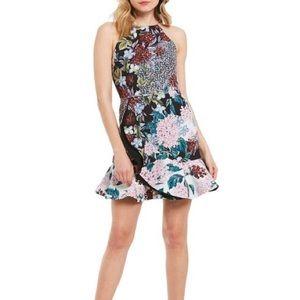 KEEPSAKE the label Unreal Floral Mini Dress XS